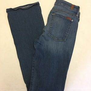 7 For All Mankind The Skinny Bootcut size 27